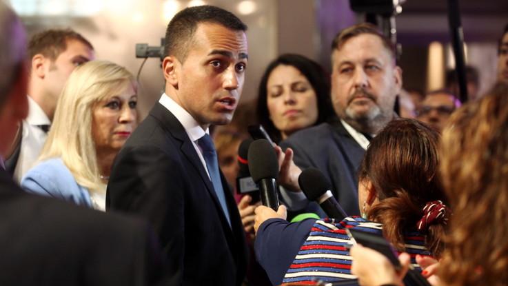 """Riforme, Di Maio: """"Arriva proposta per tagliare 345 parlamentari"""""""