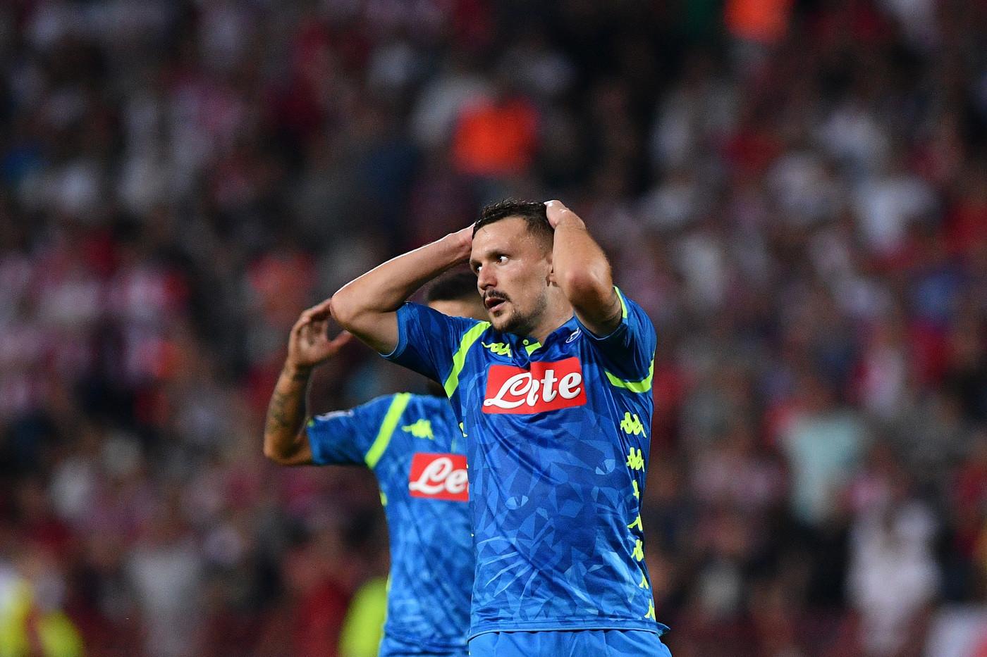 Champions, Napoli sprecone a Belgrado: con la Stella Rossa è 0-0