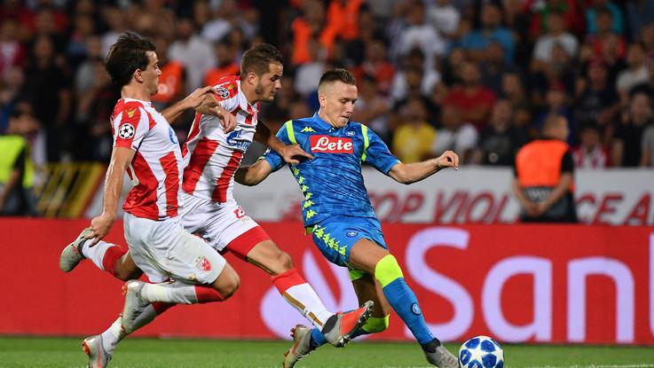 Champions, Napoli sbatte sul muro serbo: solo 0-0 contro Stella Rossa