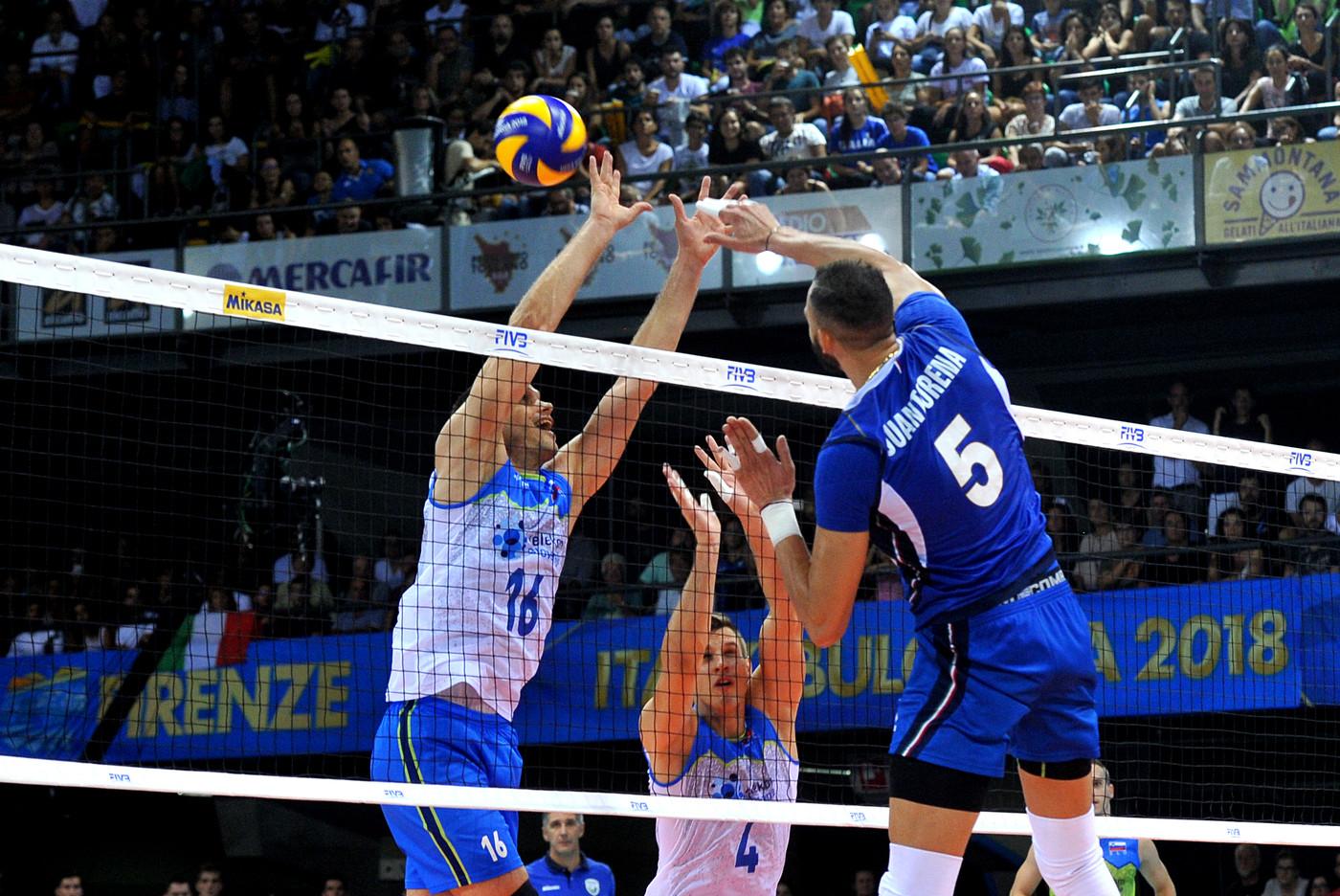 Mondiali di Volley, l'Italia fa il pieno. Battuta (3-1) la Slovenia