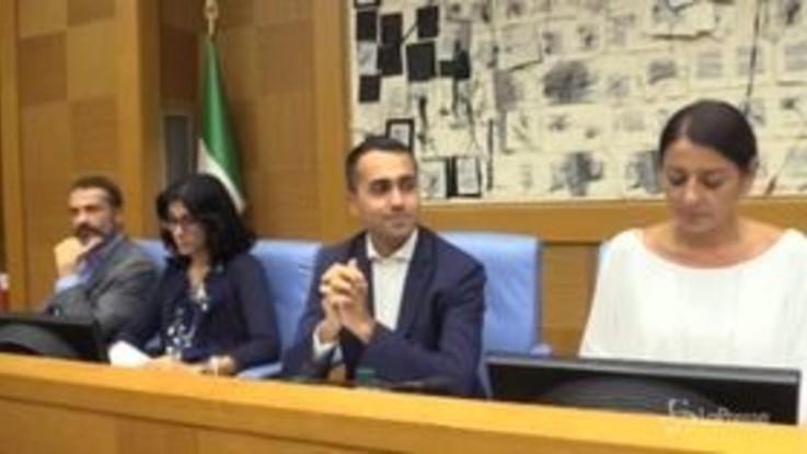 """Di Maio: """"Pronto ddl per tagliare 345 parlamentari"""""""