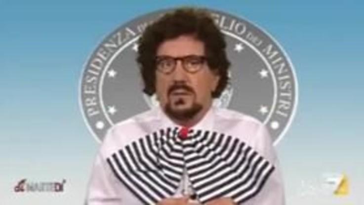 """Gene Gnocchi è Toninelli: """"Miss Italia? Nazionalizzata e con le quote rosa"""""""