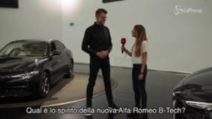 Alfa Romeo, nuova serie speciale B-Tech, intervista a Klaus Busse