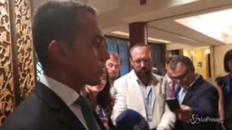 """Manovra, Di Maio: """"Piena fiducia in Tria, ma ora troviamo i soldi"""""""