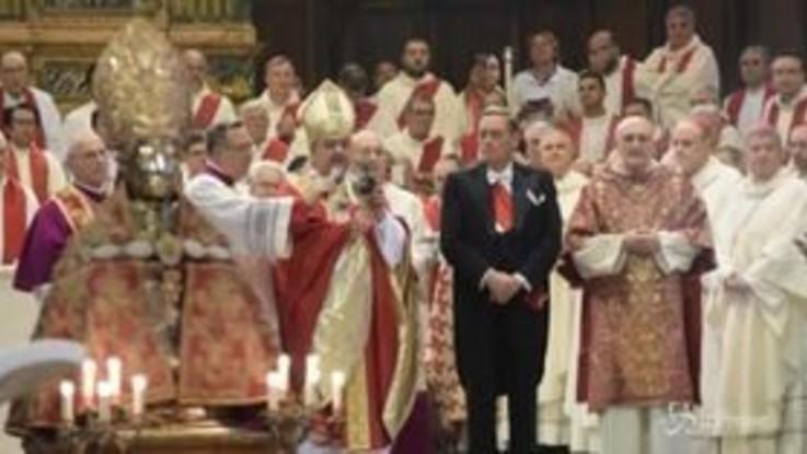 Napoli, si ripete il miracolo di San Gennaro: il sangue si scoglie