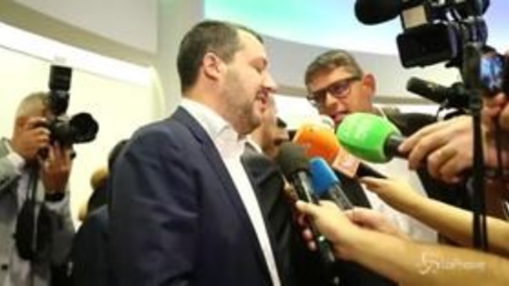 """Salvini: """"Il Pd? È nel caos più totale"""""""