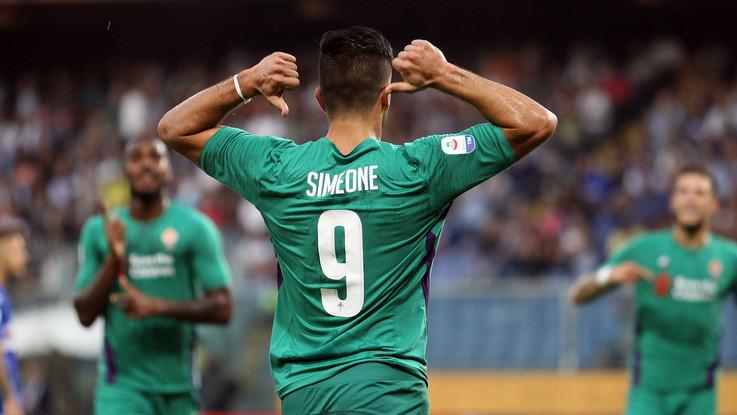 Serie A, Caprari replica a Simeone: Samp-Fiorentina 1-1 nel recupero