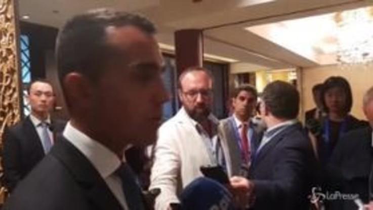 """Manovra, Di Maio: """"Piena fiducia in Tria"""""""