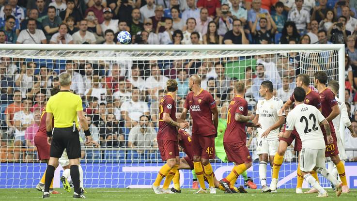 Roma, a Madrid per stupire il Real | Le formazioni ufficiali