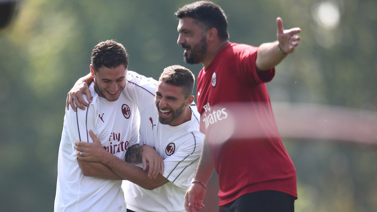 "Europa League, per il Dudelange Gattuso fa turn over. ""Attenti, c'è tutto da perdere"""
