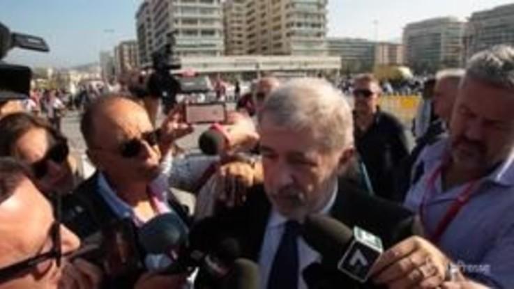 """Genova, Bucci: """"Se ci lasciano lavorare il ponte sarà pronto per ottobre 2019"""""""