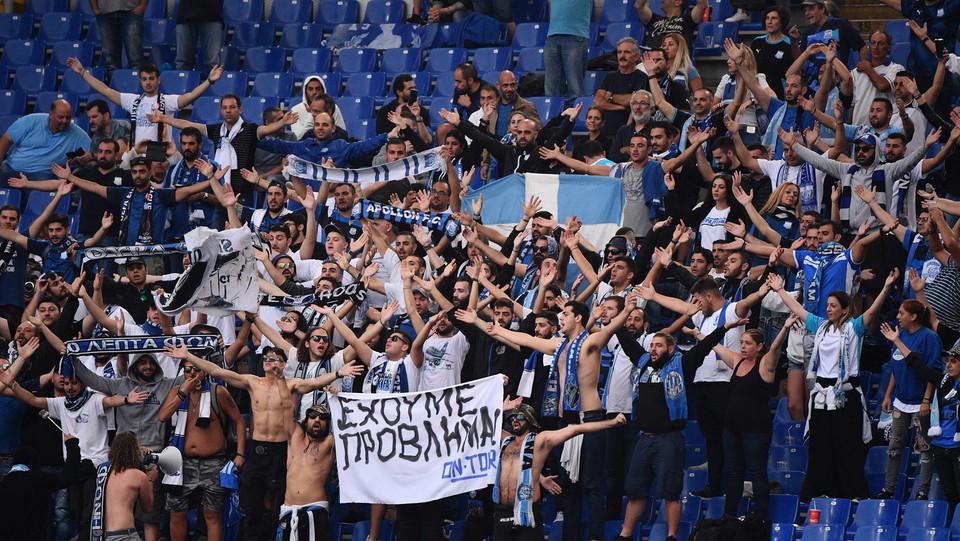 I tifosi ciprioti dell'Apollon ©