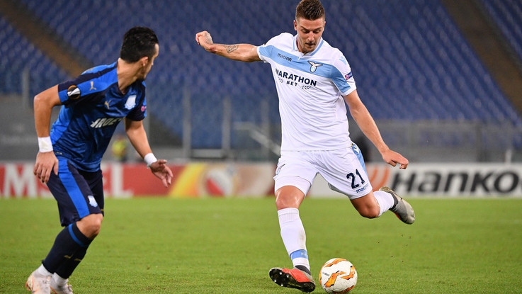 Luis Alberto e Immobile dominano l'Apollon: finisce 2-1