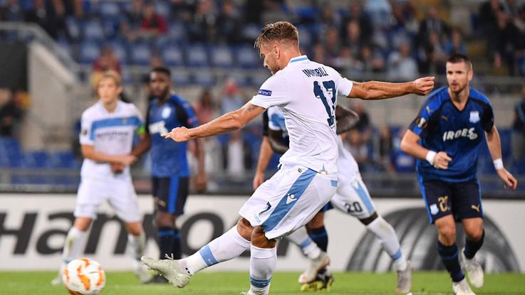 Europa League, Lazio a fatica, ma con l'Apollon finisce 2-1