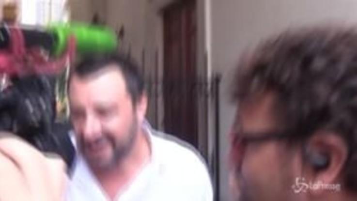 """Salvini: """"Passo indietro sui migranti? Ne faccio due in avanti"""""""