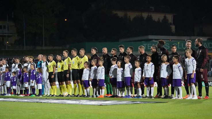 Europa League, Dudelange-Milan 0-1 | Il fotoracconto