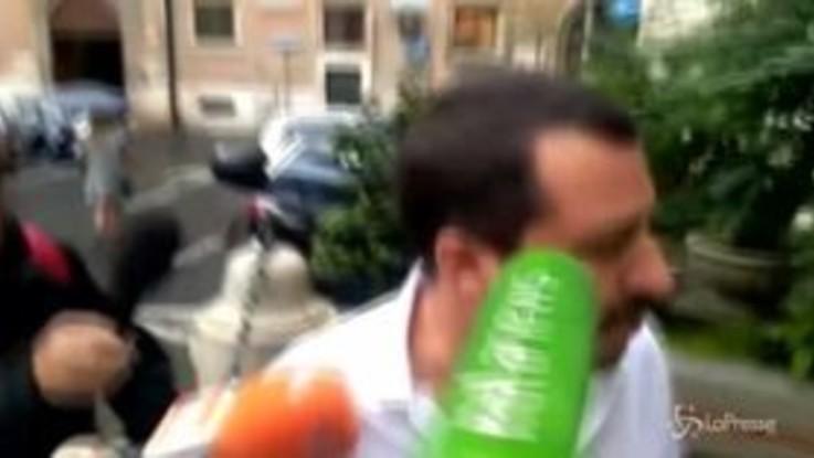 """Manovra, Salvini: """"Conti in ordine e meno tasse"""""""