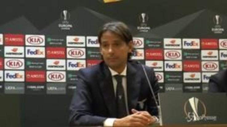 """Lazio, Inzaghi: """"Soddisfatto per primo tempo, meno bene il secondo"""""""
