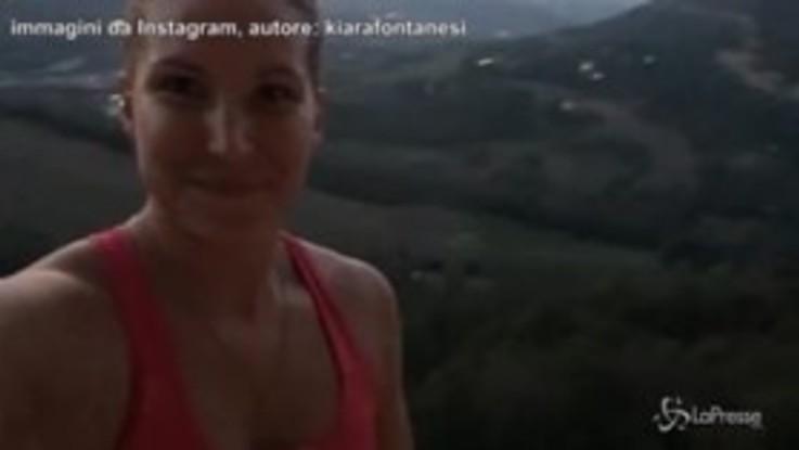 Kiara Fontanesi da brividi, la campionessa di motocross si prepara così al Gp di Imola