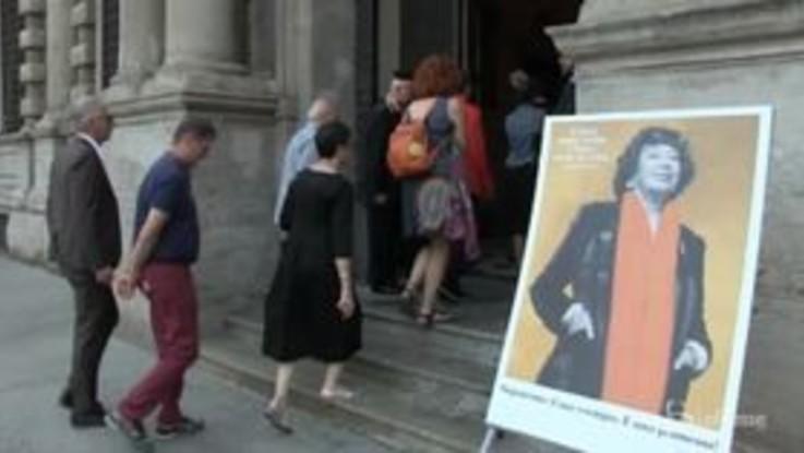 """Inge Feltrinelli, l'omaggio di Milano: """"Era una persona luminosa, una cittadina del mondo"""""""