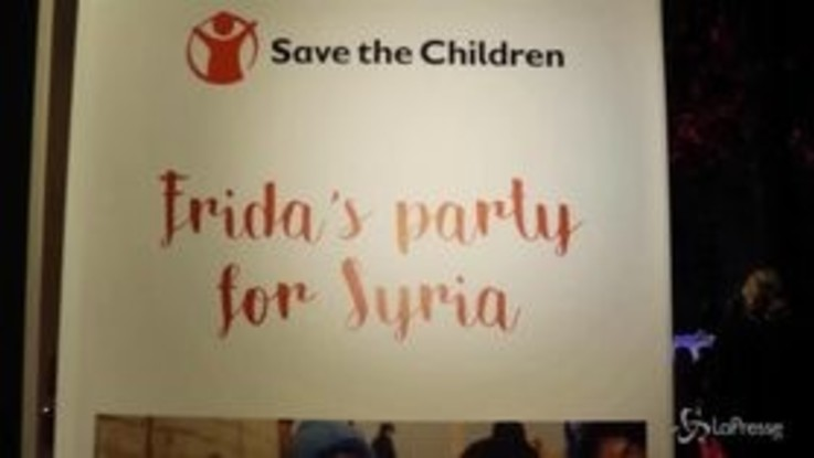 Giorgia canta al Frida's Party for Syria