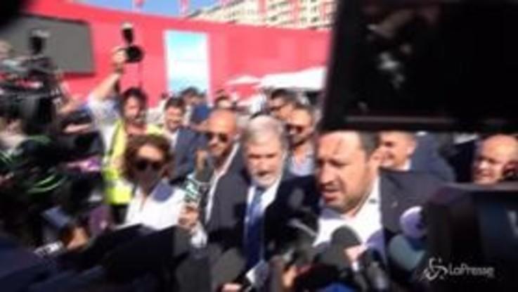 """Ponte Morandi, Salvini: """"Non invidio il Commissario"""""""