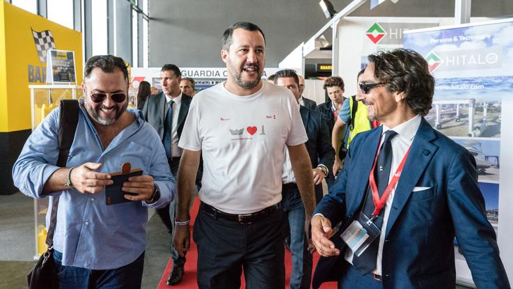"""Salvini su Genova: """"Autostrade stia indietro, ma non cerchiamo vendetta"""""""