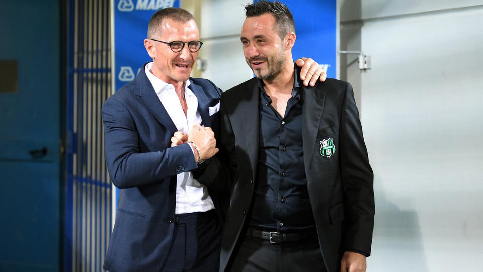 Gli allenatori Aurelio Andreazzoli (Empoli) e Roberto De Zerbi (Sassuolo) ©
