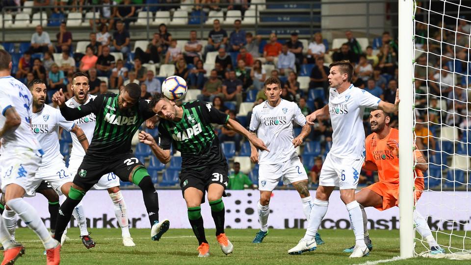 Gian Marco Ferrari (Sassuolo) realizza il gol 2-1 ©