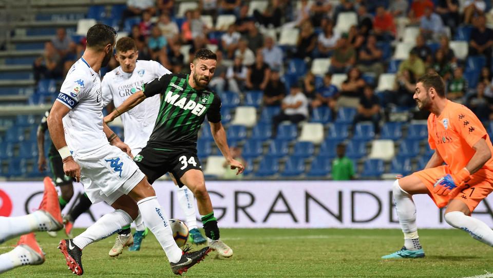 Terzo gol del Sassuolo segnato da Federico Di Francesco ©