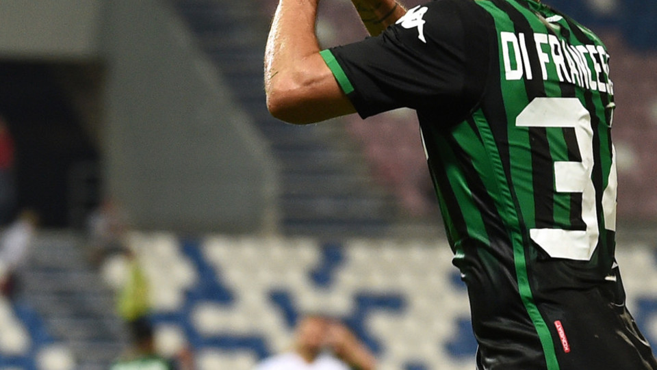 La gioia di Di Francesco dopo il gol ©