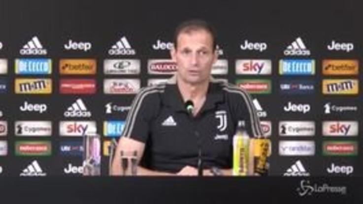 """Juve, Allegri: """"Troppo entusiasmo abbassa la tensione. Ronaldo? Non deve dimostrare nulla"""""""