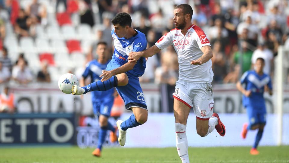 Serie B: Carpi-Brescia 1-1 - Bisoli (Brescia) e Sabbione (Carpi) ©