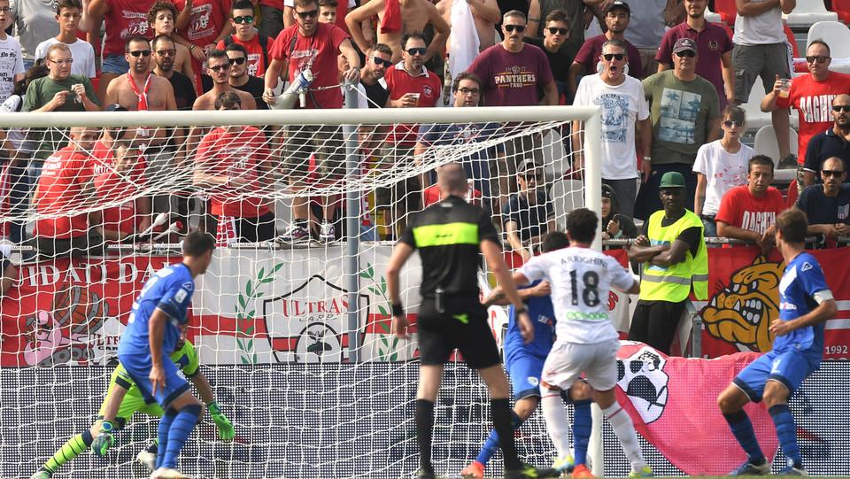 Serie B: Carpi-Brescia 1-1 - Arrighini (Carpi) ristabilisce la parità ©