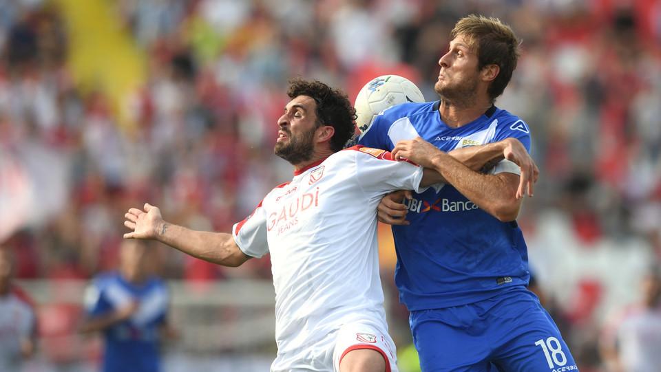 Serie B: Carpi-Brescia 1-1 - Arrighini (Carpi) e Romagnoli (Brescia) ©
