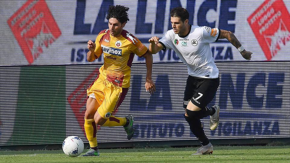 Serie B: Spezia-Cittadella 1-0 - Settembrini (Cittadella) ©
