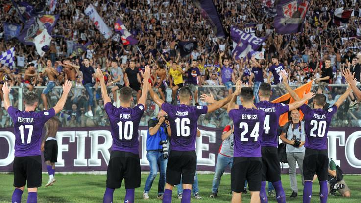 Serie A, Fiorentina travolge la Spal: 3-0 al 'Franchi', viola secondi