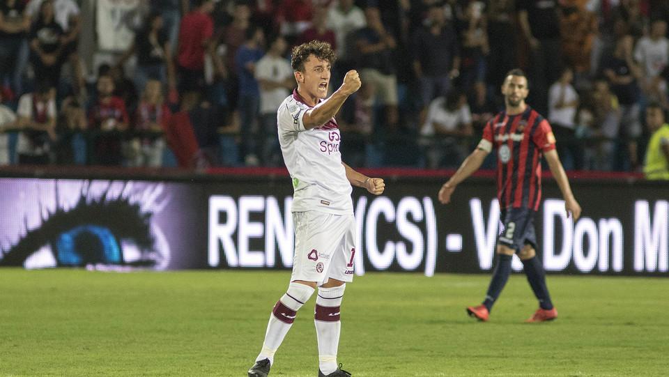 Serie B: Cosenza-Livorno 1-1 - Giannetti segna per il Livorno e ristabilisce la parità ©