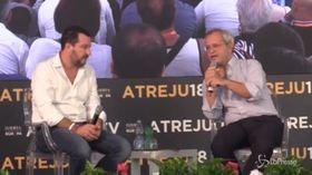 """Bari, Salvini: """"Per chi pesta qualcuno, c'è la galera"""""""