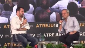 "Atreju, siparietto tra Salvini e Mentana: ""Alzato male stamattina? Potevi andare da Tajani"""
