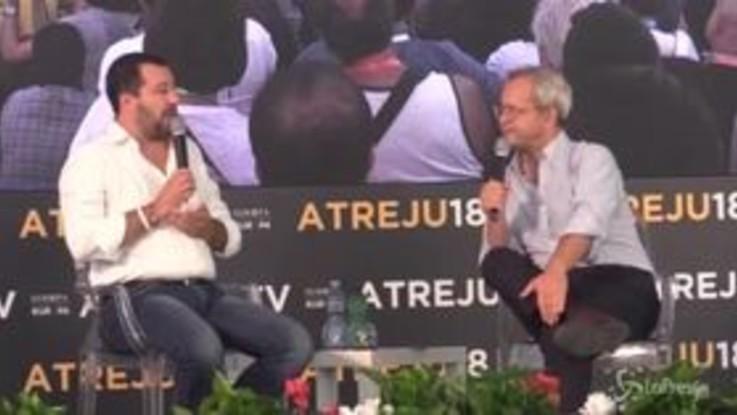 """Olimpiadi 2026, Salvini: """"Qualcuno ha avuto paura, ma una proposta italiana ci sarà"""""""