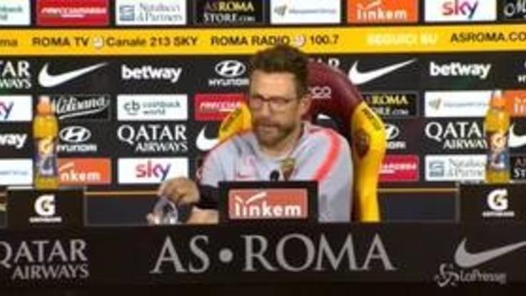 """Roma, Di Francesco: """"A Bologna per vincere"""""""
