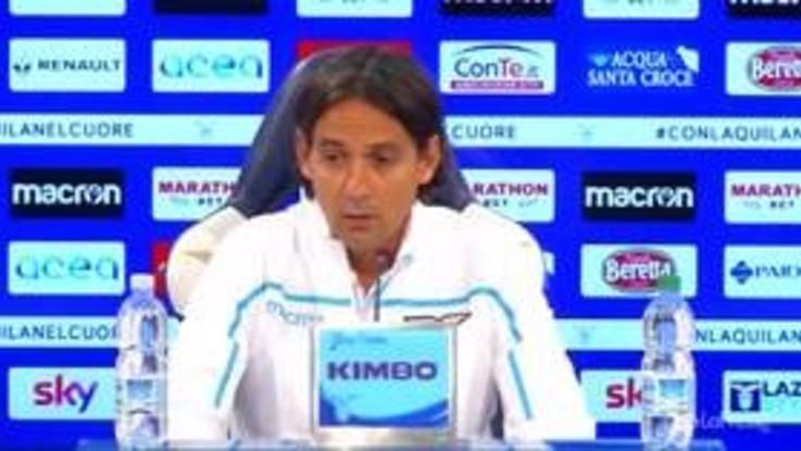 """Lazio, Inzaghi: """"Bravi a reagire dopo i ko con Napoli e Juve"""""""