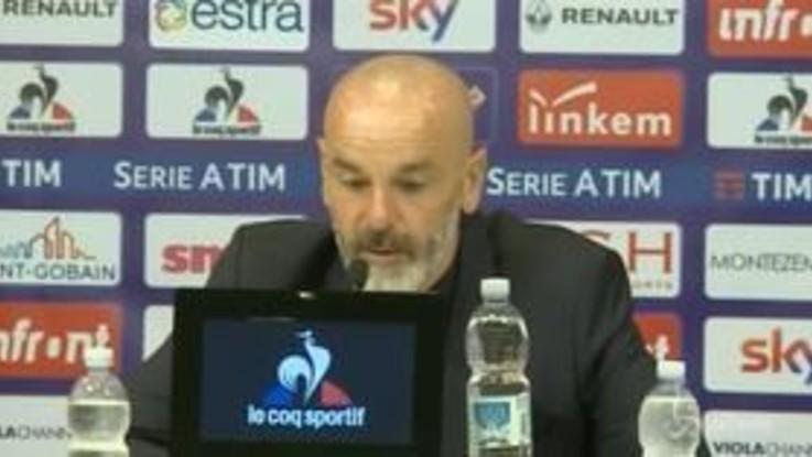 """Fiorentina, Pioli: """"Non guardo la classifica"""""""