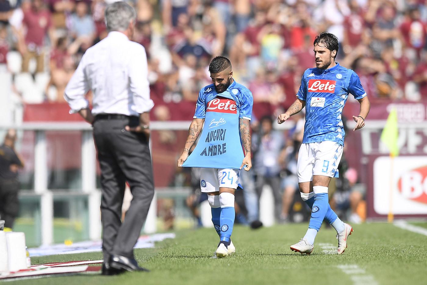Serie A, doppio Insigne e Verdi: Napoli stende Toro e aggancia Juve