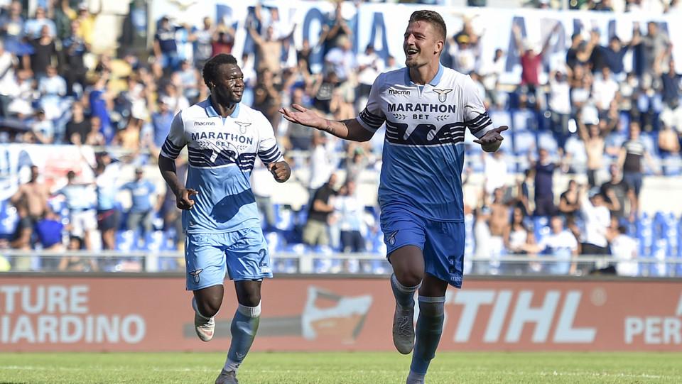 Ma Milinkovic dà sicurezza alla Lazio portandola sul 3-1 ©