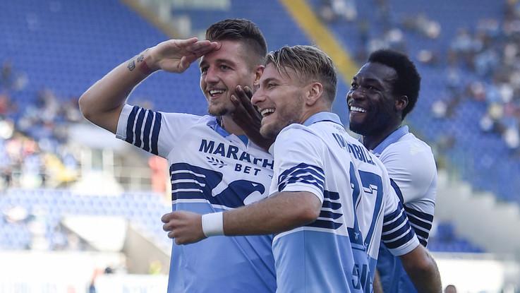 Doppio Immobile, Caicedo e Milinkovic-Savic. La Lazio va: Genoa battuto 4-1