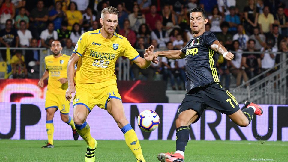 Ronaldo in azione ©