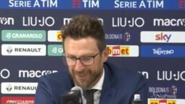 "Di Francesco: ""Roma ko? Zitti e pedalare"""