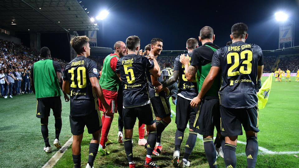 Allo Stirpe finisce 2-0: Juve prima e a punteggio pieno in Serie A con 15 punti ©
